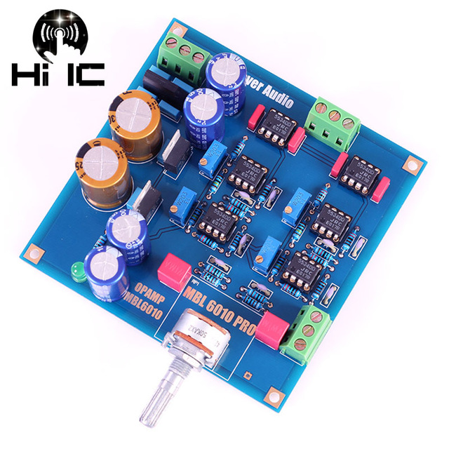 Reference MBL6010D Pre amplifier Preamplifier Board NE5534 Diy Kits/Finished Product