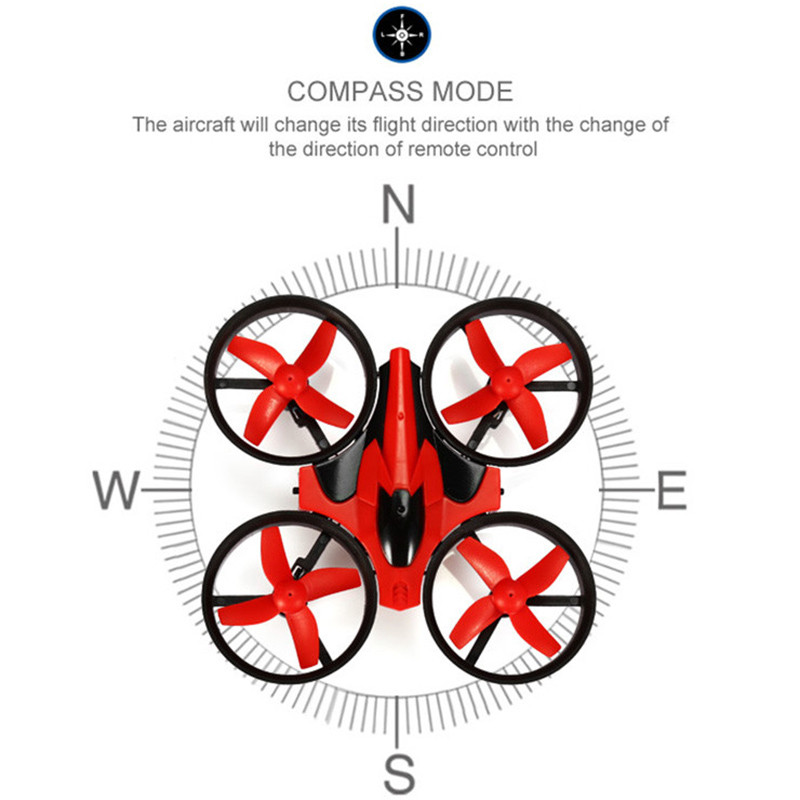 Mini Drone RC Quadcopter NH010 2.4G 6-Axis 4 Channels 30M Headless Mode One Key Return RC Helicopters Dron Toys Pocket Drones (22)
