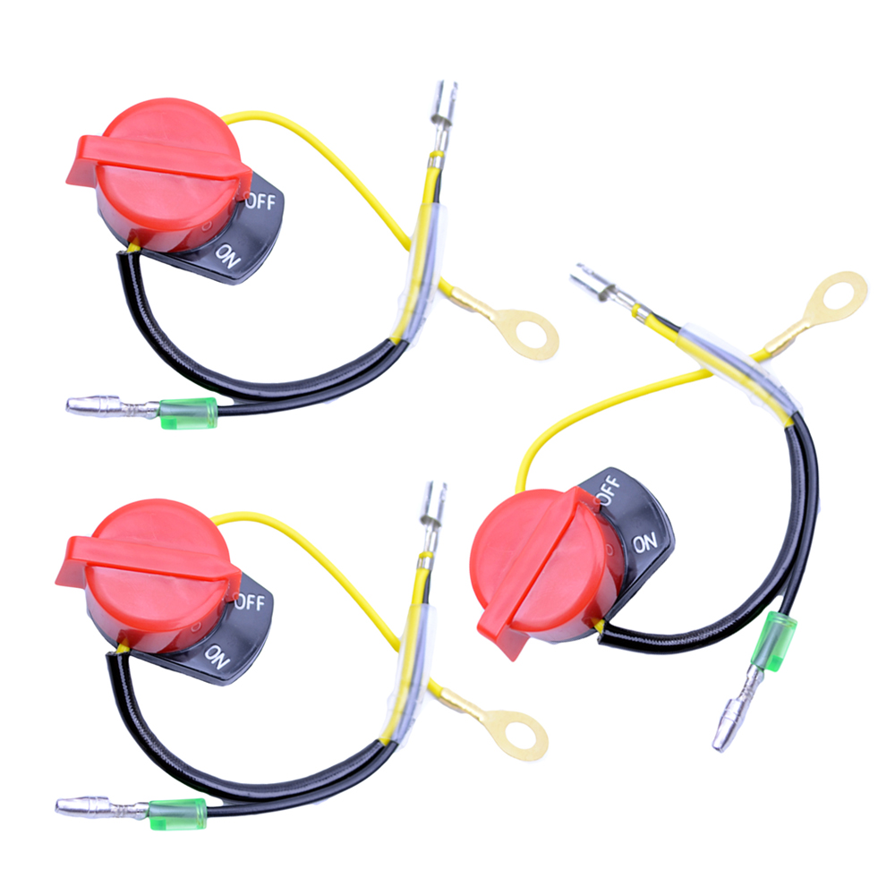 On Off Engine Stop Switch Three Wire Fits Honda Gx120 Gx160 Gx200 Gx240 Gx270 Gx340 Gx390