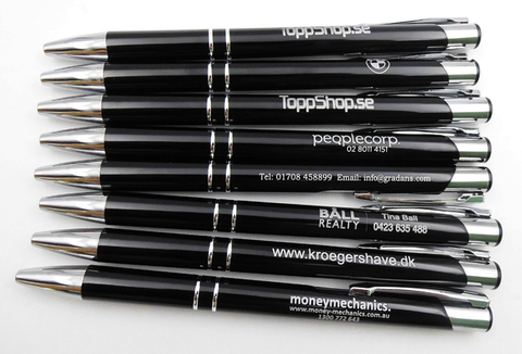 gratis criativo presente canetas esferograficas de metal