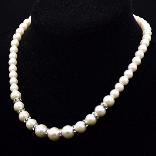 Aliexpress.com   Buy Fashion simple pearl necklace 830e403bda