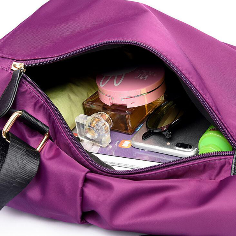 New 2019 Women Backpack Waterproof Nylon Schoolbags Lady Women 39 s Backpacks Female Casual Travel Shoulder Bags Mochila Feminina in Backpacks from Luggage amp Bags