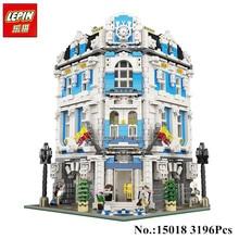 IN STOCK Free Shipping 2017 New Lepin 15018 3196 PCS New MOC City Series The Sunshine Hotel Set Building Blocks Bricks Toys