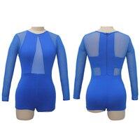 Dancer S Choices Girls Gymnastics Leotard Long Sleeves Shortard Unitard Microfiber Lycra Mesh Zipper Back Ballet