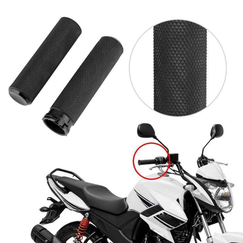 VODOOL 1 para kierownica motocykla uchwyt gumowy motocykl uchwyty do kierownicy dla Harley Sportster Softail uchwyt silnika akcesoria barowe