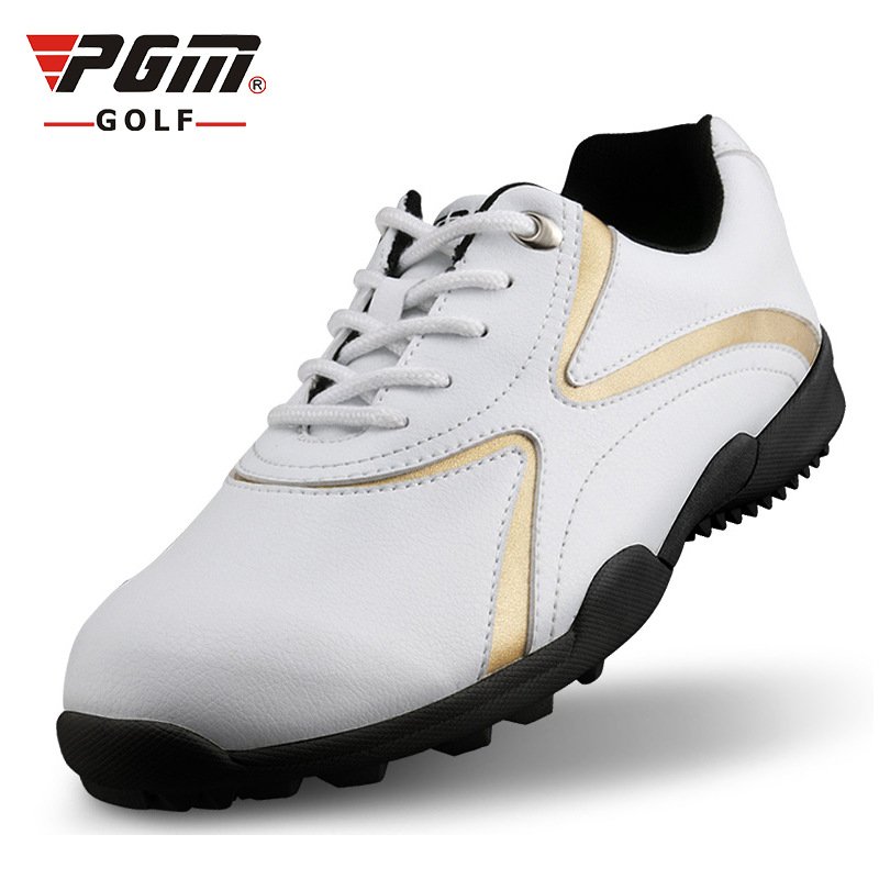 2018 Limited Time-limited Medium(b,m) Breathable Rubber There Are Pgm Authentic Golf Shoes Men Shoes, Sports Waterproof Specials