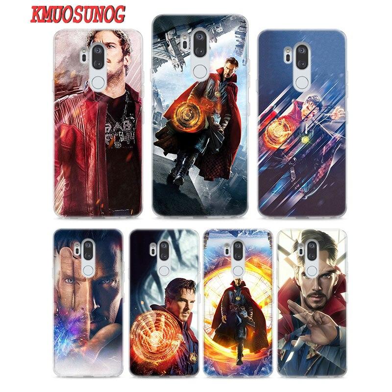 Painstaking Transparent Soft Silicone Phone Case Avengers Doctor Strange For Lg Q7 Q6 V40 V30 V20 G7 G6 G5 Thinq Mini Plus Perfect In Workmanship Phone Bags & Cases