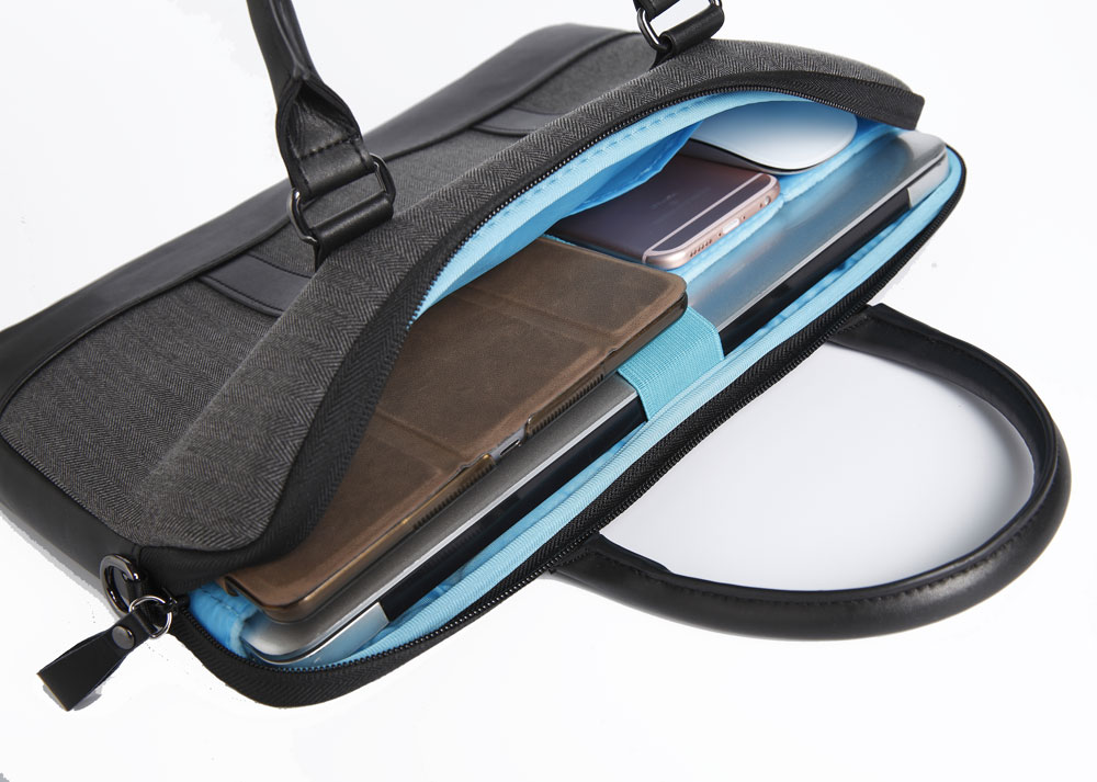 GEARMAX 13 Pulgadas Laptop Messenger Bag para MacBook 13 15 Bolsas - Accesorios para laptop - foto 5