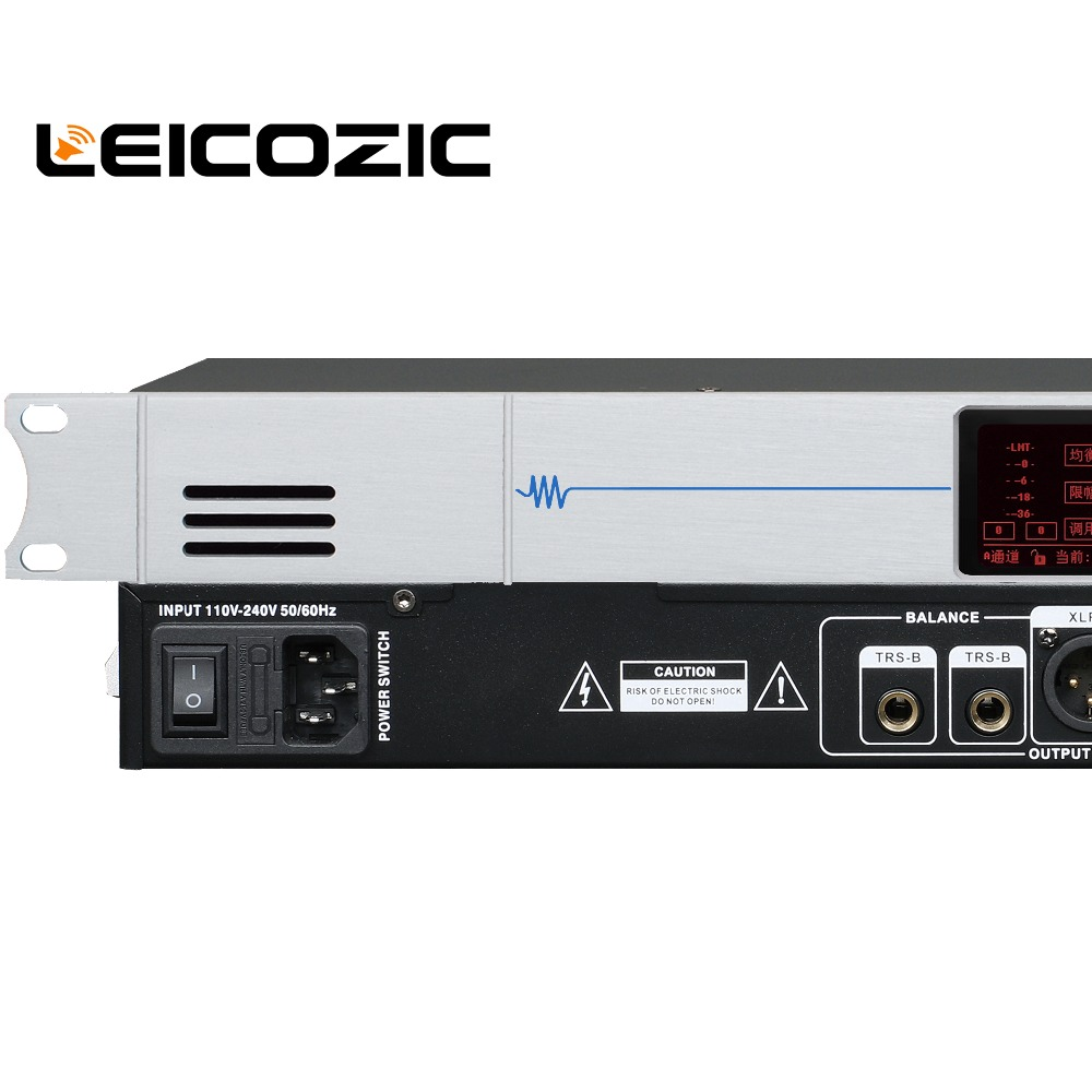 US $140 0 |Leicozic DEQ 2310S Digital Equalizer dual 31 bands EQ with PC  software control equalizador de audio prfofessional dj music pro-in Stage
