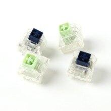 Wholesales Kailh 상자 로얄 네이비 블루 옥 핑크 크리스탈 상자 3 핀 스위치 IP56 방수 호환 체리 MX 스위치