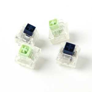 Image 1 - Wholesales Kailh Box Royal Navy Blue Jade Pink Crystal Box 3 pin Switches IP56 Water proof Compatible Cherry MX Switches