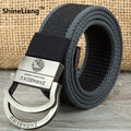 Fashion Men's tactical belt Military Canvas body Width 3.8CM Thickness 4MM Length 110/140/160CM Designer High/quality Boutique