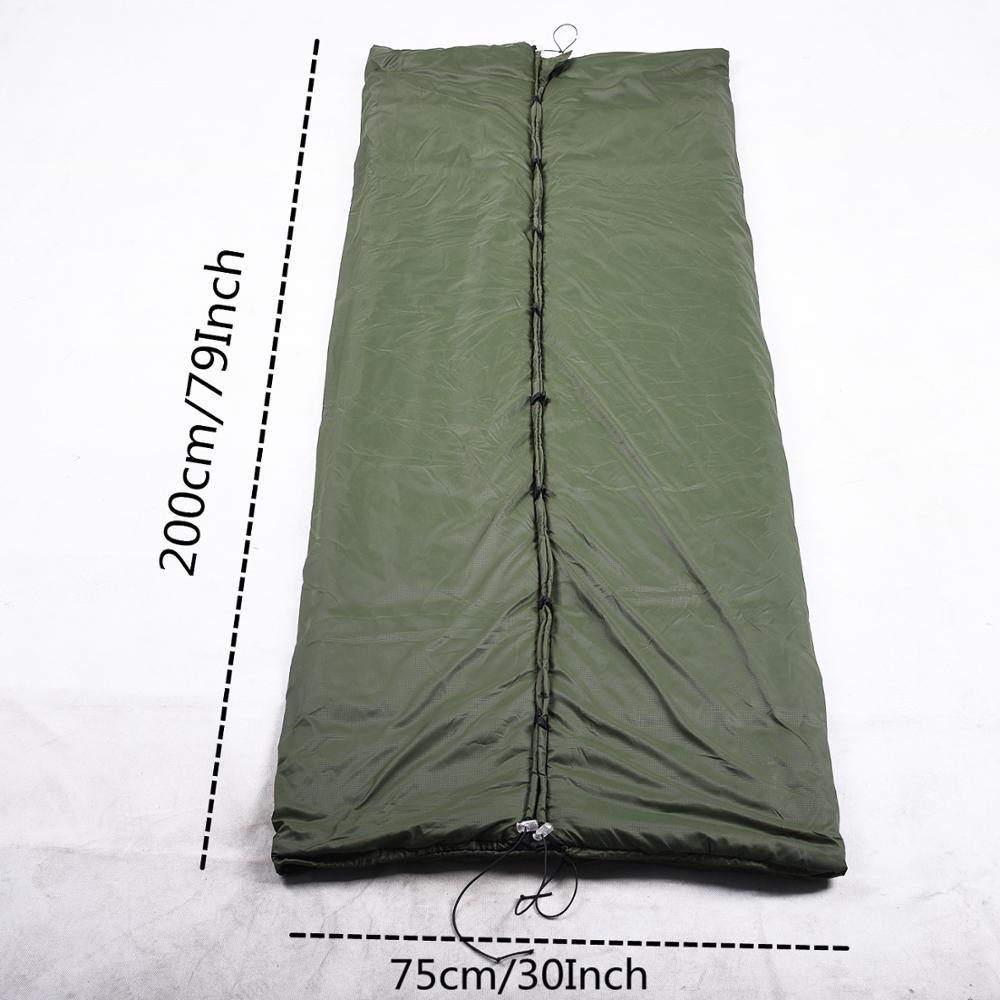 Image 2 - VILEAD Portable Hammock Sleeping bag Ultralight Waterproof Camping Hiking Outdoor Sleep Bed Adult Survival Winter Bed Bag Travel-in Sleeping Bags from Sports & Entertainment