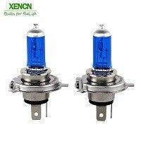 XENCN H4 суперяркие белые противотуманные галогеновые лампы внешний светильник источник стайлинга автомобилей 12V 100/90W 9003 УФ ксеноновые лампы авто лампы