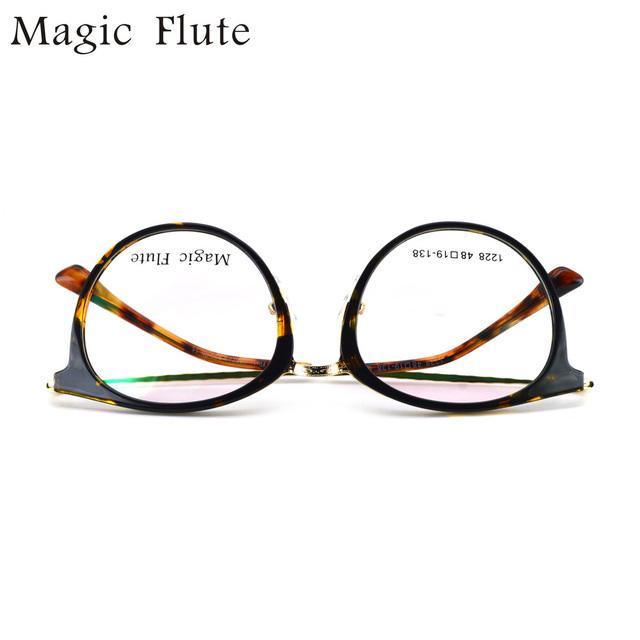 Envío Gratis 2017 nuevo de la manera tr90 marcos ópticos marcos de alta calidad óptica gafas anteojos con laterales de metal blando y ligero 1228