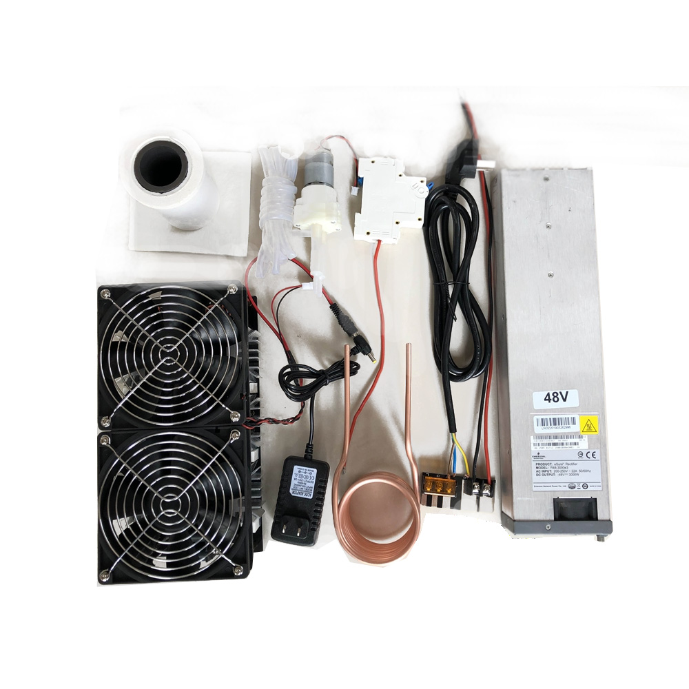 NEW 2500W 48V 50A ZVS Induction Heating Module High Frequency Heating Machine Melted Metal Coil With