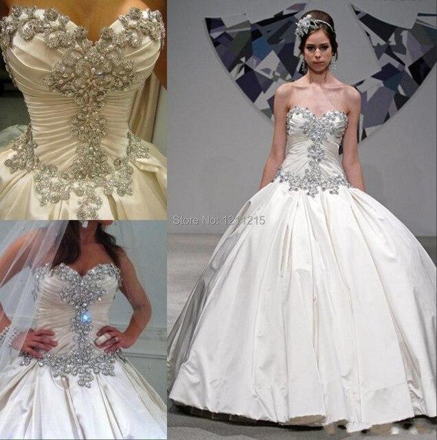 diseño de moda sparkle 2016 primavera pnina tornai vestido de novia