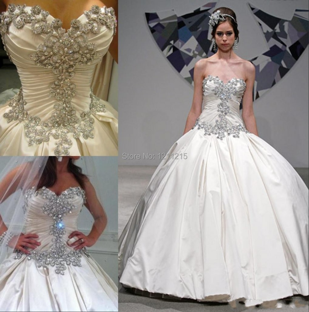 Trendy design sparkle 2016 spring pnina tornai dress sweetheart trendy design sparkle 2016 spring pnina tornai dress sweetheart beading crystal satin ball gown wedding dress plus size hot sale in wedding dresses from junglespirit Choice Image