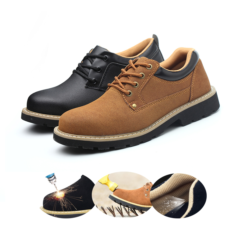 Fashion Shoe Men's Boots Plus Size 36-46 New Martens Casual Leather Doc Martins Boots Mens Military Shoes Work Safety Shoes