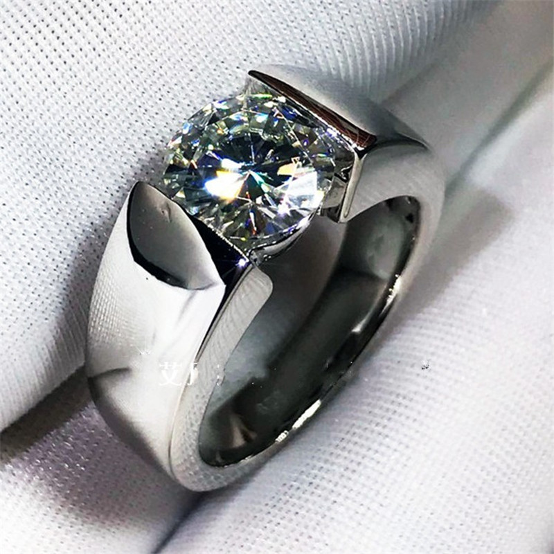 Solitaire Promise Ring 2ct...