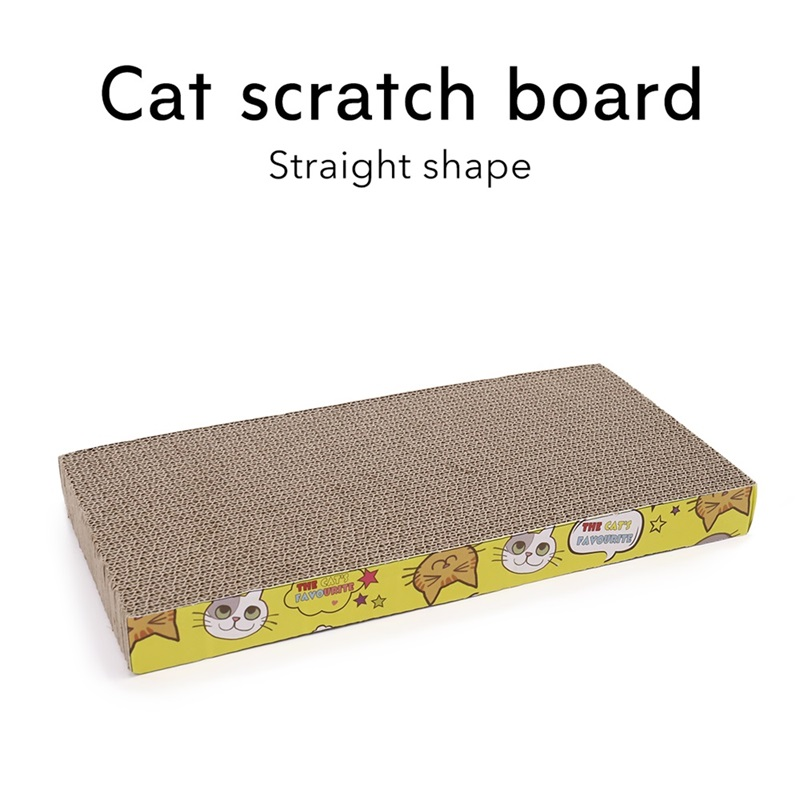 Cat Scratch Board Pad Corrugated Paper Scratching Posts  Pet Products Kitten  Grinding Nails Interactive Cats Toys Drop Shipping