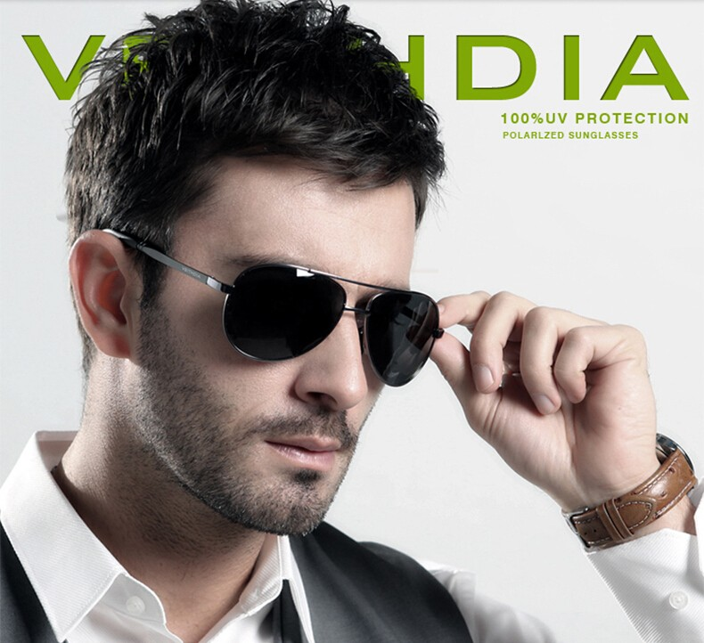 VEITHDIA Men's Polarized Sunglasses 7