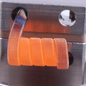 Image 5 - Clapton XFKM 100 pçs/caixa Alienígena NI80 SS316L a1 Fios de Aquecimento Nichrome Fio de Alta Qualidade fused Clapton Para RDA Atomizador RTA Bobina