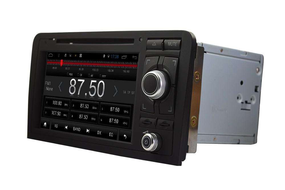 (クアッドコア、16ギガバイトinandフラッシュ)オートラジオautoradio車のgpsナビゲーションシステム用アウディa3 人気 (2003-2012)を持つアンドロイド4.4.4システム 13
