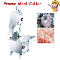 Коммерческих машина для резки кости измельчитель мороженого мяса 220 V 750 W косторезная машина нарезка рыбы