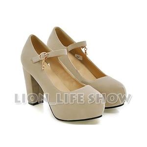 Image 5 - Nekopara Chocola Vanilla Anime Maidservant Lolita blue red Cosplay Shoes High Heels Pumps