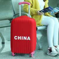 NAAN GUO Nationale Vlag Patroon Reisbagage Cover Stretch Nylon Stofkap Beschermende Koffer Trolley Case Stofkap 1737FZ