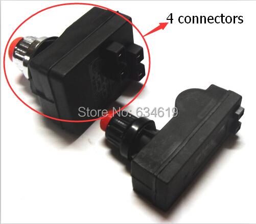 DC1.5V battery Push Button Ignitor for grill 4 outlet connectors pulse igniter generator for burner kitchen oven gas parts