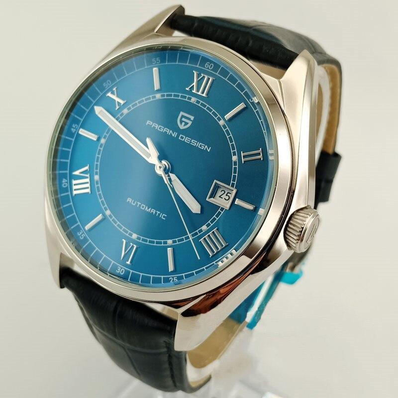 Image 4 - PAGANI Mens Mechanical Watches 2020 Top Brand Luxury Watch Men  Automatic Leather Watch Men Waterproof Clock Relogio  MasculinoMechanical Watches