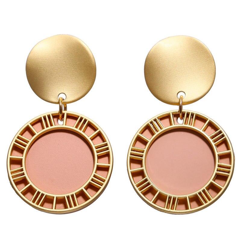 Vintage Earrings 2019 Geometric Shell Earrings For Women Girls BOHO Resin Drop Earrings Brincos Fashion Tortoise Jewelry 32
