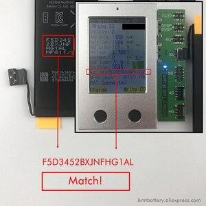Image 4 - Оригинальный аккумулятор BMT Foxcon 10 шт./лот, для iPhone 1560, 0 циклов, мАч, оригинальные, 0 циклов, запасные части 2013 г.