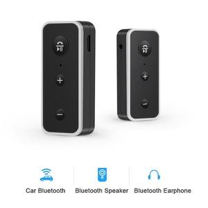 Image 5 - Rovtop Bluetooth 5.0 Ontvanger Car Kit Stereo Muziek 3.5 Mm Aux Audio Draadloze Handsfree Adapter Voor Hoofdtelefoon Luidspreker Met Microfoon z2