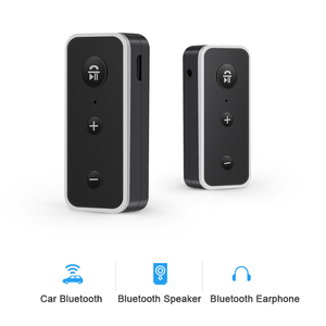 Image 5 - Rovtop Bluetooth 5.0 Receiver Car Kit Stereo Music 3.5mm AUX Audio Wireless Handsfree Adapter For Headphone Speaker with Mic Z2