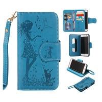 Telefoon Case Voor Iphone 5 S SE 6 S 7 Plus Magnetische 2 In 1 9 Card PU Leather Wallet Case Cover Voor Samsung Galaxy S3 S4 S5 S6 S7 Edge