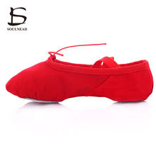 Child Size 24-45 Adult Ballet Pointe Dance Shoes Ladies Professional Ballet  Dance Shoes With Leather Woman Ballet Pointers Shoes 166fec09170f