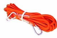 Spedizione Gratuita Arancione 12mm * 10 m Corda da Alpinismo, Outdoor Salvataggio Fuga Corda di Sicurezza Mountain
