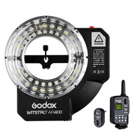 Godox Witstro AR400 400WS Ring Flash Speedlite LED Video Light+ FT 16 Trigger+ 4500mAH Li ion Battery for C/N CD50 T03 2Y