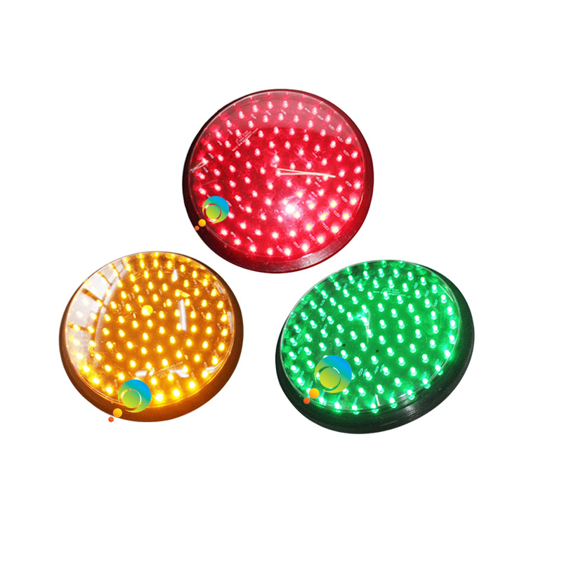 DC12V 8 Inch Traffic Signal Light Module Red Yellow Green Three Pieces A Lot For Promotion