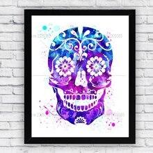 5D DIY Diamond Painting Mexican Sugar Skull Cross Stitch Diamond Embroidery  Rhinestone Needlework home Decoration Diamond d3d84c10fea6