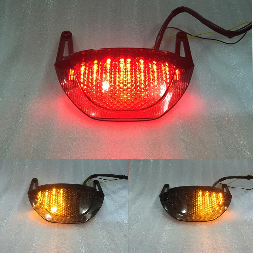 ФОТО Dark smoke motorcycle brake lights FOR HONDA CBR600RR 2009-2012 F5  DOT certified