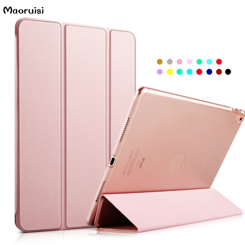 For Apple iPad Pro 9.7 Cases kenke PU Leather Smart Cover table accesso