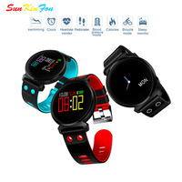 For Samsung Galaxy J7 J5 J3 J1 W9 Smart Wristband Bracelet Heart Rate Blood Pressure Oxygen Detection Fitness Tracker Smart Band