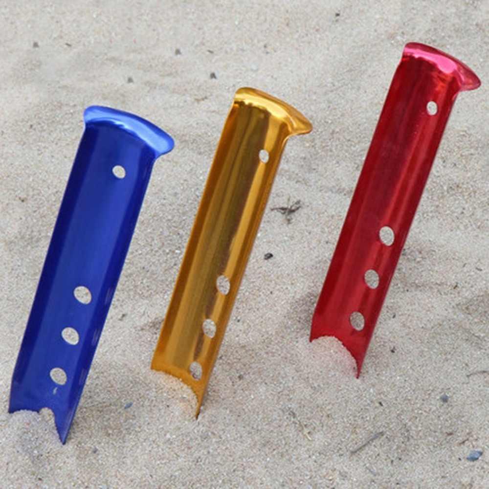 A prueba de viento tienda de clavijas de acero tienda de uñas tienda juego uñas suelo Pin Camping de senderismo al aire libre herramienta tienda accesorios