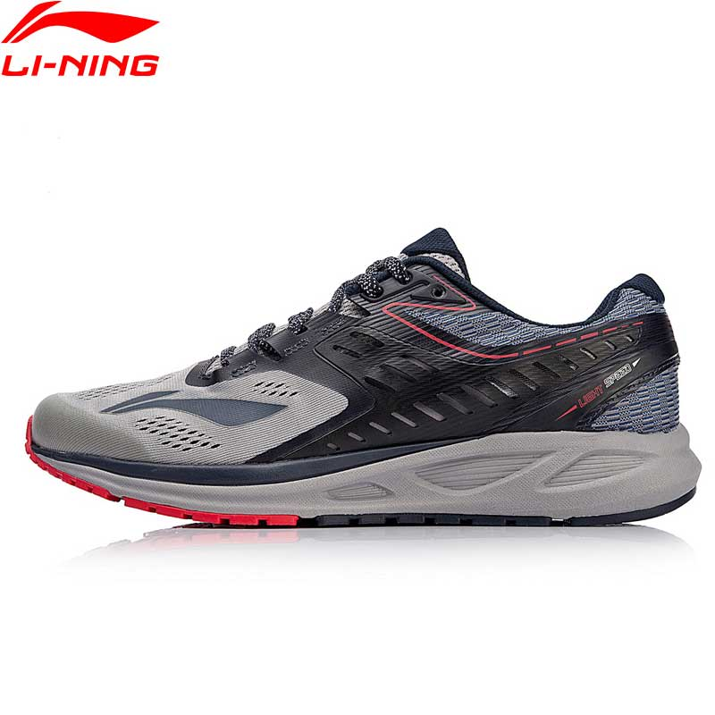 Li-Ning Hommes FLASH Chaussures de Course Coussin Portable Doublure Sport Chaussures Respirant Confort Fitness Sneakers ARHN017 XYP669