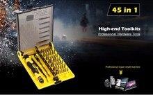 Precision 45 In 1 Electron Torx Mini Magnetic Screwdriver Tool Set hand tools Screwdrivers Kit Opening Repair Phone Tools Jackly