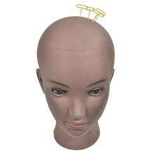 Female Manikin Model Wig Making Styling Practice Hairdressing Cosmetology Bald Mannequin Head Hat Headwear Display Make Up Tools(China)